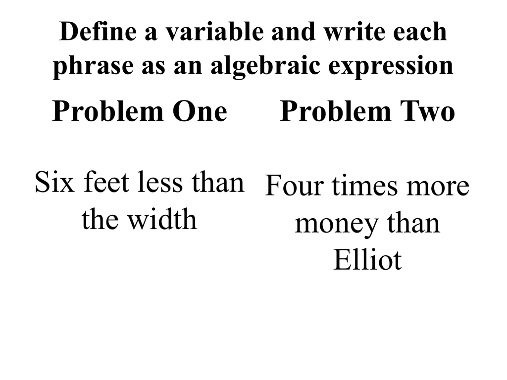 worksheet. Translating Words Into Algebraic Expressions Worksheet ...