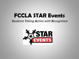 STAR Events PowerPoint