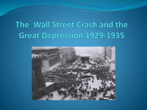 The Great Depression 1929-1935