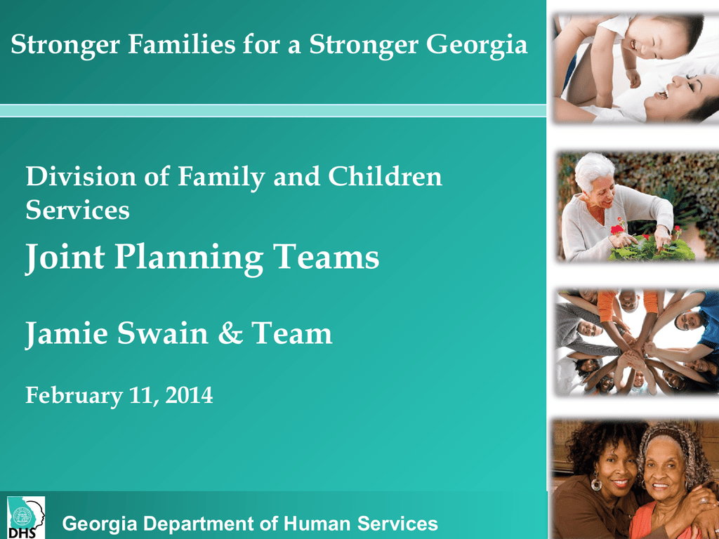DFCS Team Members - Georgia Association of Homes and Services