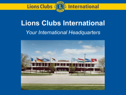 headquarters_structure - Lions Clubs International