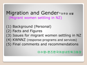 KWNNZ Birthday Event Korean Women`s Network in NZ 2012