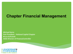 Financial Management - Snake River Chapter