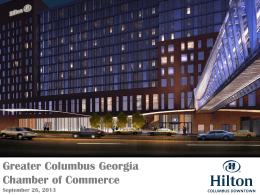 Columbus Hilton Hotel - Greater Columbus Georgia Chamber of