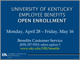 2014 Benefits Presentation Final