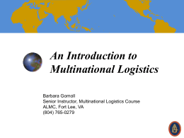 Multinational Logistics