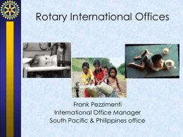 Rotary International Office