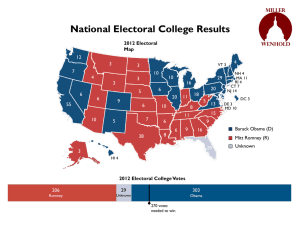 Elecction 2012 Graphs
