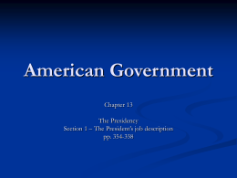 AmericanGovernmentCh.13Section1and2Notes