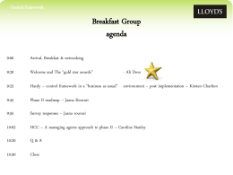 CF Breakfast Group Presentation April 2013