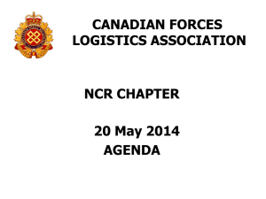 CF LOGISTICS ASSOCIATION NATIONAL