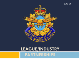 League Industry Partners Presentation
