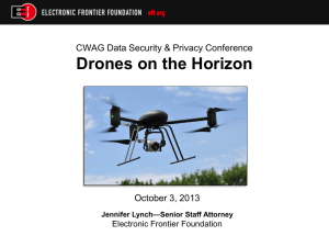 What is a Drone? - CWAG Conference of Western Attorneys General