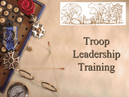 Troop_Leader_Training - The