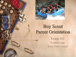 Scout - BSA Troop 101