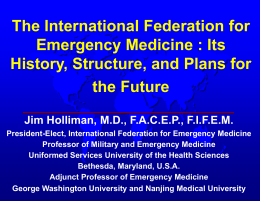 View - International Federation for Emergency Medicine