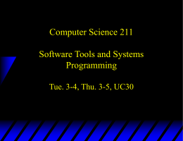 74.101 Slides - Computer Science