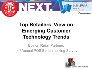 Top Retailers` View on Emerging Customer Technology Trends