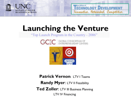 Launch the Venture – Patrick Vernon
