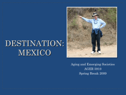 Mexico Powerpoint - A Future Without Poverty, Inc.