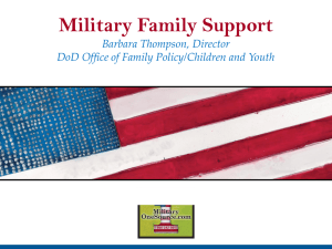 Military Family Support – Barbara Thompson
