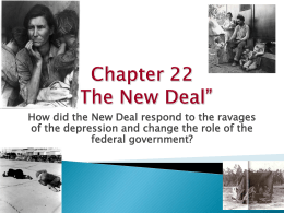 The New Deal - Walton High
