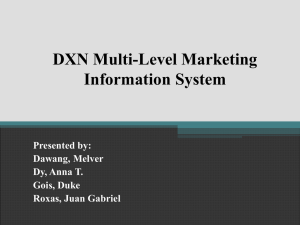 A Systems Analysis Study on the DXN Multi-Level