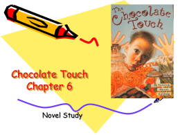 Chocolate Touch Vocab