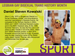 here - Lesbian Gay Bisexual Trans History Month