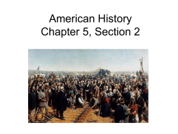AMH Chapter 5 Section 2