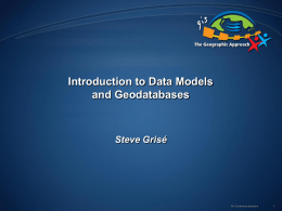 Introduction to data models