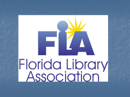 auto advance - Florida Library Association