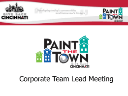 Paint the Town improves neighborhoods and builds community