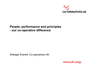People performance and principles - our co - Co