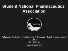 SNPhA National Office Presentation