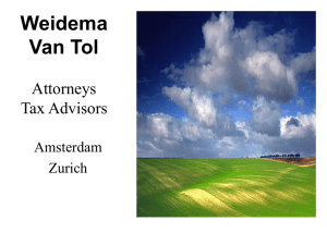 Weidema Van Tol Attorneys Tax Advisors