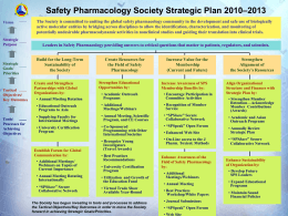 SPS_StrategicPoster - Safety Pharmacology Society
