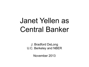 20131107 DeLong on Yellen - Brad DeLong`s Grasping Reality