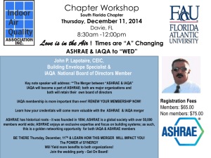 Chapters Workshop Wednesday, March 5th, 2014 Davie, FL 8:00am