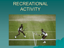 development of lawn tennis as rational recreational activity
