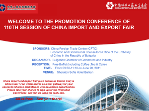 Invitation - Economic and Commercial Counsellor`s Office of the