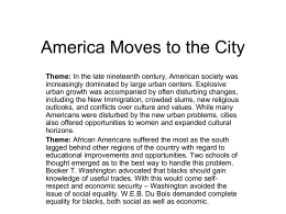 25 America Moves to the City