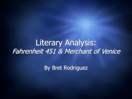Merchant of Venice BTE
