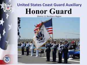 Honor - United States Coast Guard AuxiliaryDistrict 11 Northern