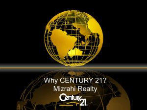 Why Franchise... Why Century 21?