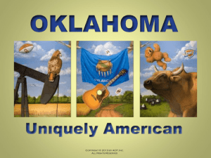 CHAPTER 9 - Oklahoma Uniquely American