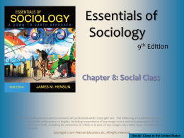 Social Class - National Paralegal College