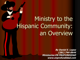 The Hispanic Christian Community in Houston