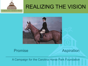 realizing the vision campaign