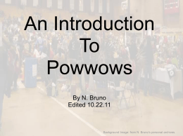 What is a Powwow?